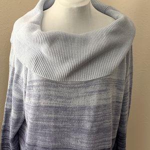 Lane Bryant Gradient Cowl Neck Sweater, Sz 22/24